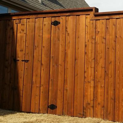 Fence Staining - Painting - Footville, Wisconsin